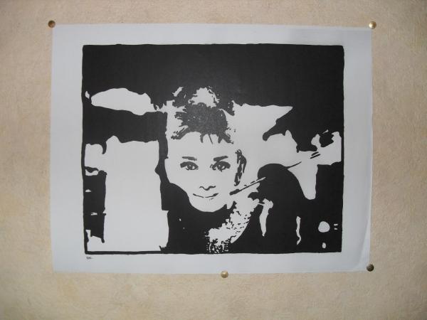 Audrey Hepburn by dharma_dvg